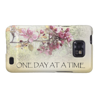One Day at a Time Pink Blossoms Galaxy SII Cover