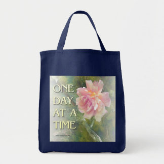 One Day at a Time Pink Rose Bags