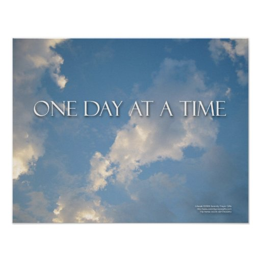 one day at a time - photo #23