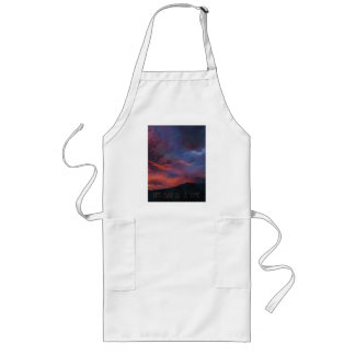 One Day at a Time - Quiet Sunrise Long Apron
