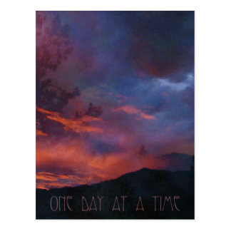 One Day at a Time - Quiet Sunrise Postcard