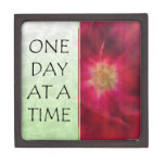 One Day at a Time Red Rose Premium Jewelry Box
