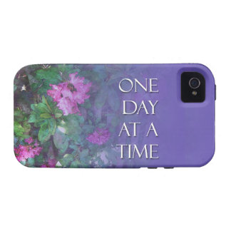 One Day at a Time Rhododendrons iPhone 4 Cases
