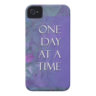 One Day at a Time Rhododendrons iPhone 4 Case-Mate Case