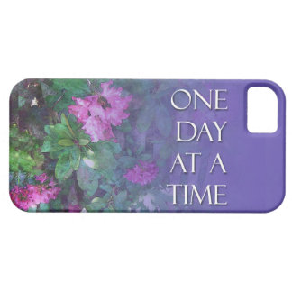 One Day at a Time Rhododendrons iPhone SE/5/5s Case