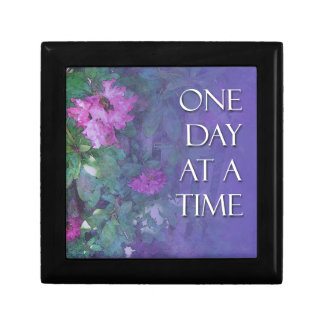One Day at a Time Rhododendrons Jewelry Box