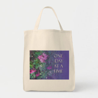 One Day at a Time Rhododendrons Tote Bag