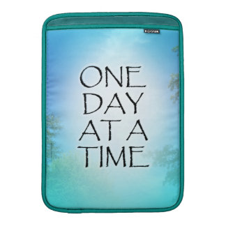 One Day at a Time September Sky MacBook Air Sleeves