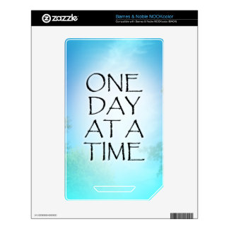 One Day at a Time September Sky NOOK Color Decals