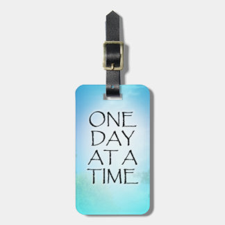 One Day at a Time September Sky Tag For Luggage