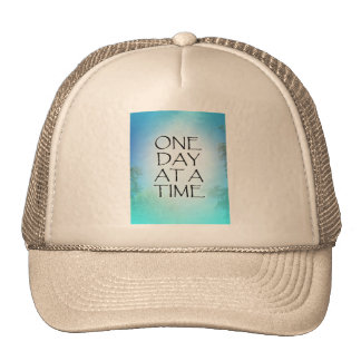 One Day at a Time September Sky Trucker Hat