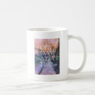 One Day at a Time Sidewalk Coffee Mug