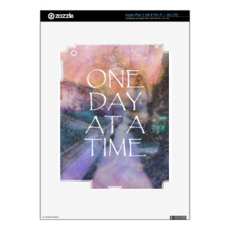 One Day at a Time Sidewalk iPad 3 Decals