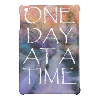 One Day at a Time Sidewalk iPad Mini Cover