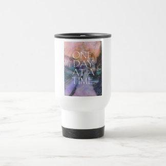 One Day at a Time Sidewalk Travel Mug