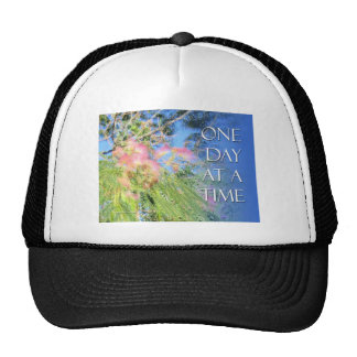 One Day at a Time  Silk Tree Trucker Hat