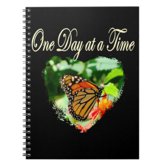 ONE DAY AT A TIME SPIRAL NOTEBOOK