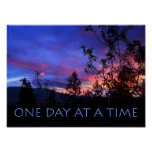 One Day at a Time Spring Sunrise Print