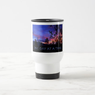 One Day at a Time Spring Sunrise Travel Mug
