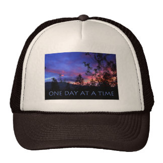 One Day at a Time Spring Sunrise Trucker Hat