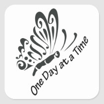 One Day at a Time Square Sticker