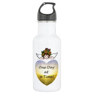 One Day at a Time Stainless Steel Water Bottle