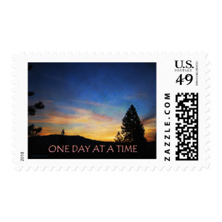 One Day at a Time Sunrise Postage