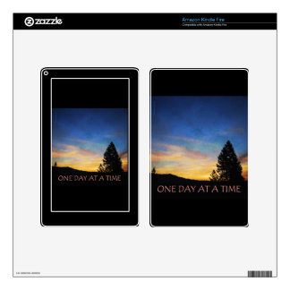 One Day at a Time Sunrise Skins For Kindle Fire