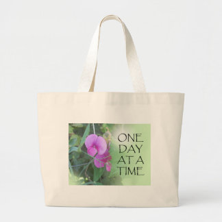One Day at a Time Sweet Peas Bags