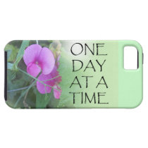 One Day at a Time Sweet Peas iPhone SE/5/5s Case