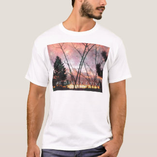 One Day at a Time Thanksgiving Sunrise T-Shirt