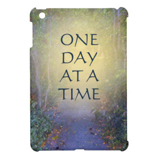 One Day at a Time Tree Canopy iPad Mini Cover