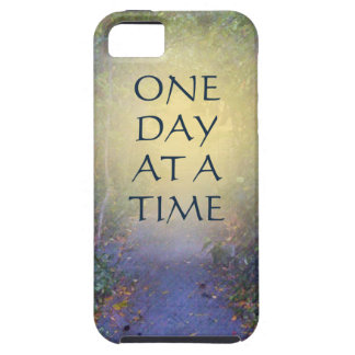 One Day at a Time Tree Canopy iPhone 5 Cover