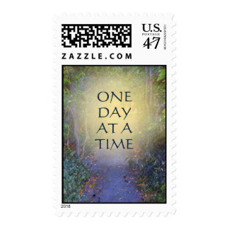 One Day at a Time Tree Canopy Postage Stamp