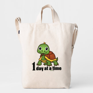 One Day at a Time -Turtle Duck Bag