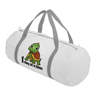 One Day at a Time -Turtle Gym Bag