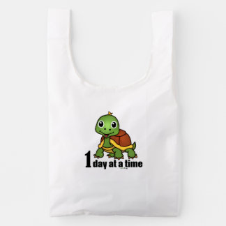 One Day at a Time -Turtle Reusable Bag
