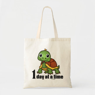 One Day at a Time -Turtle Tote Bag