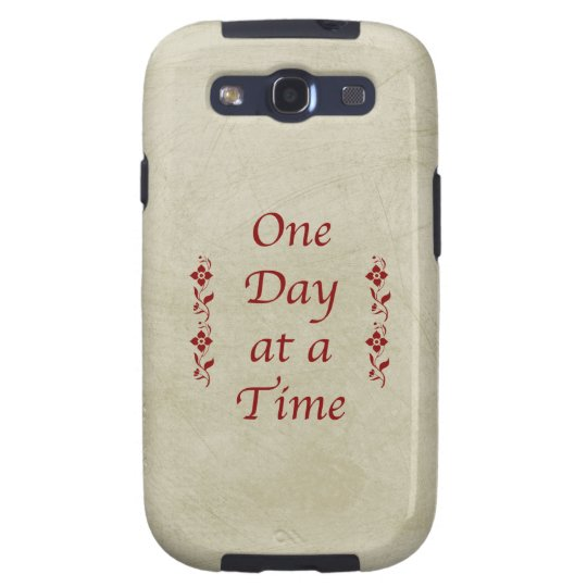 One Day at a Time-Vintage Galaxy S3 Cover