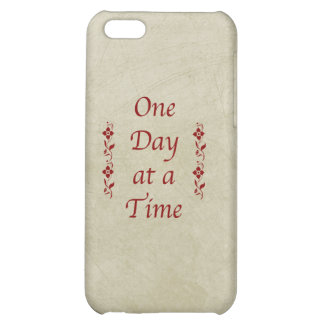 One Day at a Time-Vintage Cover For iPhone 5C