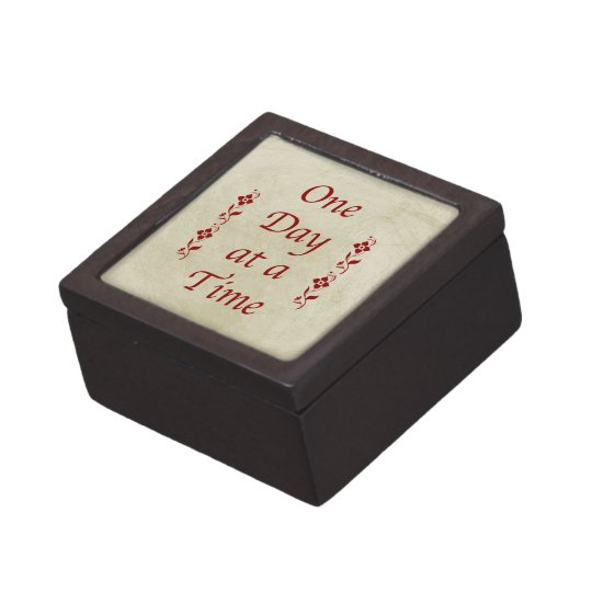 One Day at a Time/Vintage Style Keepsake Box