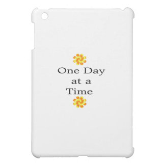 One Day at a Time with Unique Sunny Swirl Design Cover For The iPad Mini