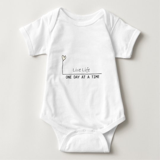 one day at  at  time baby bodysuit