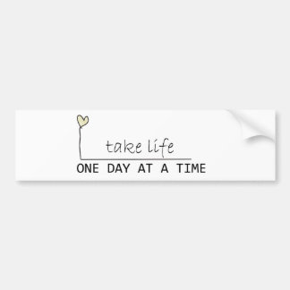 one day at at time car bumper sticker