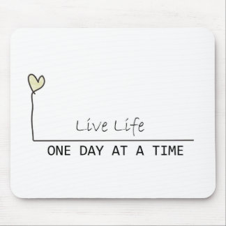 one day at  at  time mouse pad