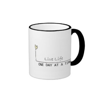 one day at  at  time ringer coffee mug