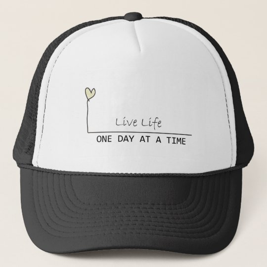 one day at  at  time trucker hat