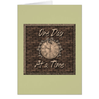 One Day at Time Greeting Card