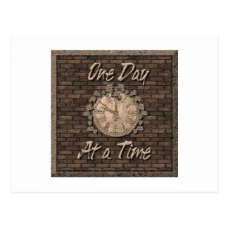 One Day at Time Postcard