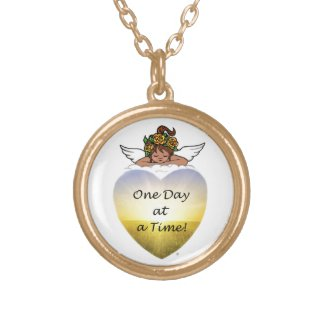 One Day Ethnic Angel Personalized Necklace